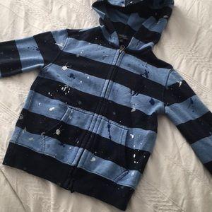 Polo Ralph Lauren blue zip up hoody sweatshirt 6
